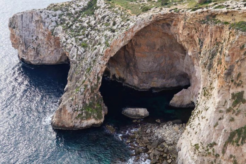 Bezoek aan de Blue Grotto op Malta