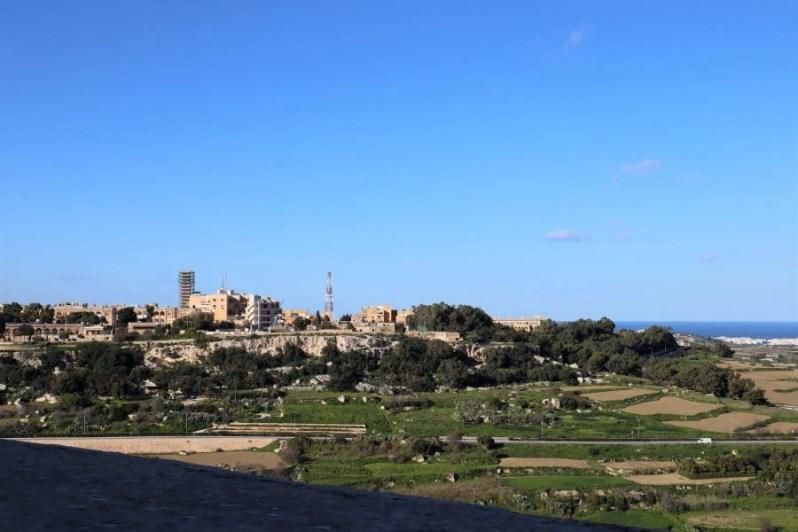 Uitzicht vanaf Mdina