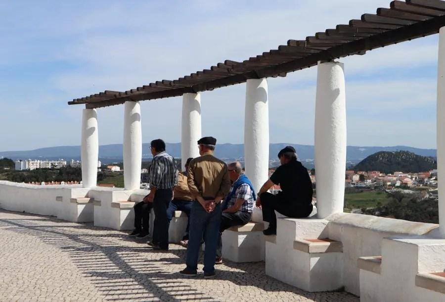 Vissersdorp Nazarè in Portugal
