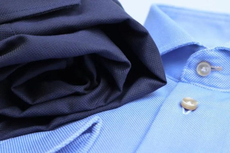 Hoe rol je een kreukvrij een overhemd op