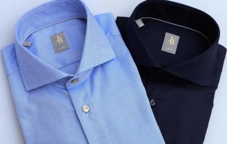 Overhemden van Jacques Britt kreukvrij mee op reis