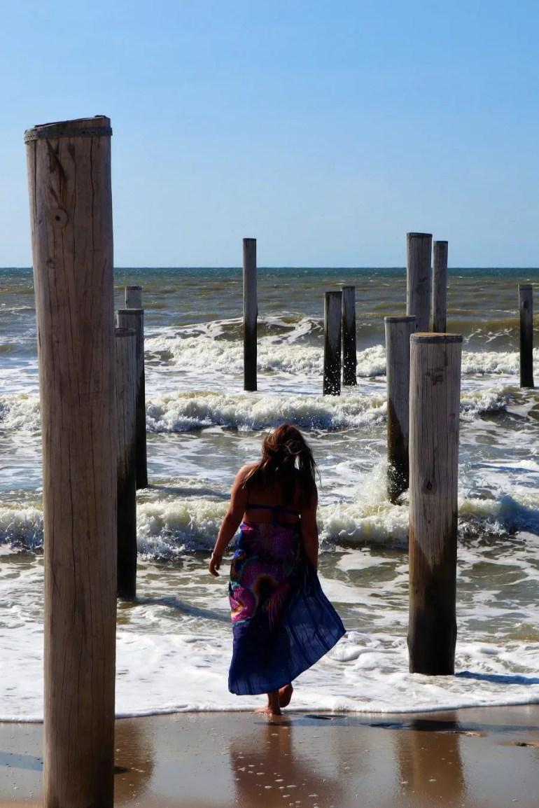 Het palendorp in Petten aan Zee