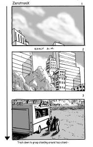 Powers Storyboard - ZEROTRONX 1