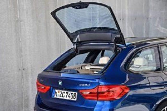 BMW radu 5 Touring zadný kufor