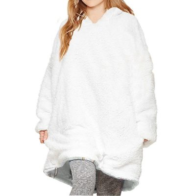 Multiple-Styles-Children-s-Hoodie-Autumn-Winter-Mink-Velvet-Thick-Home-Warmth-With-Lamb-Wool-Blanket