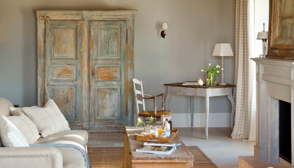 19 ideas para decorar con un armario el saln