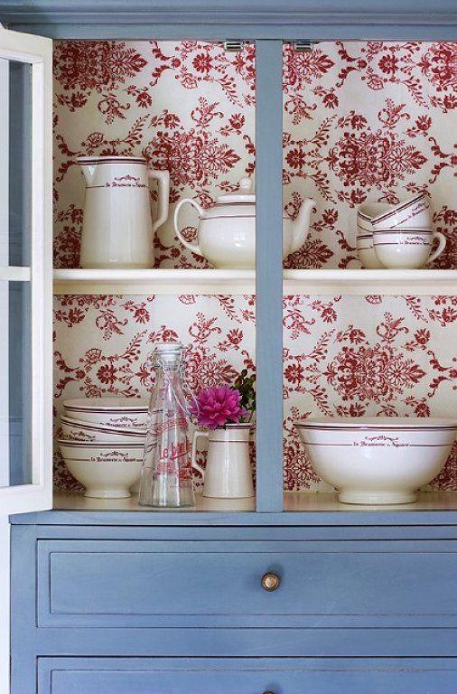 ideas para actualizar muebles con papel pintado  Tienda