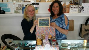 Holly Marie LMT and Gloria Krouch, Aromatherapy Candles