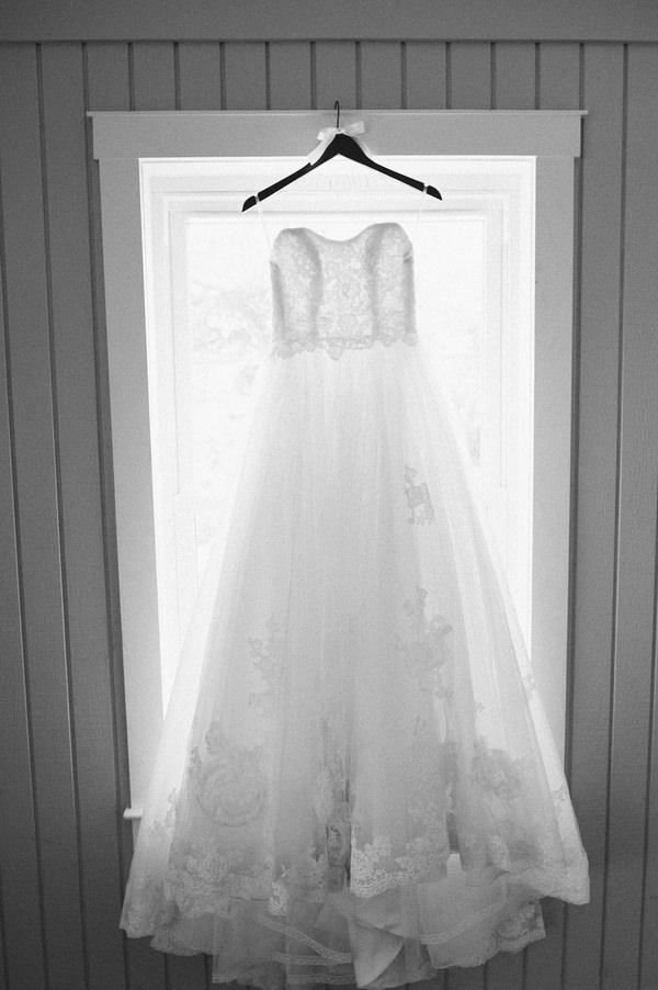 Texan wedding dress