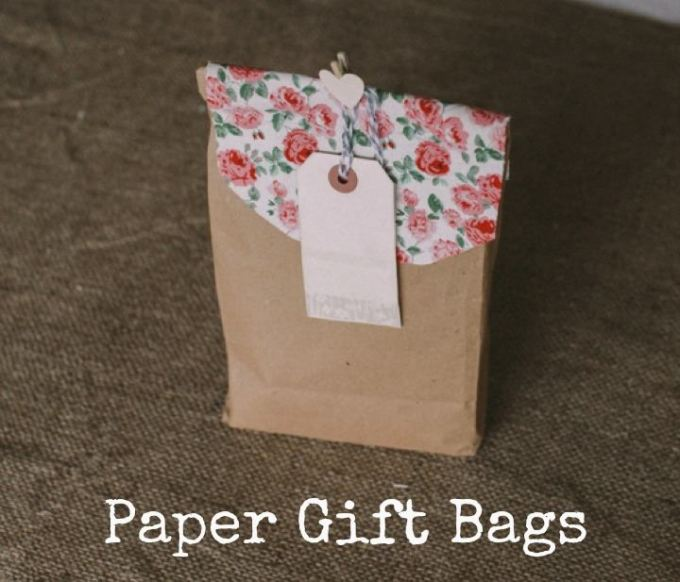 DIY Tutorial: Paper Gift Bags - Boho Weddings - UK Wedding Blog