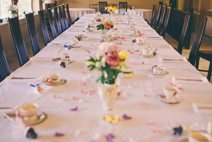 28 ntimate Afternoon Tea Wedding