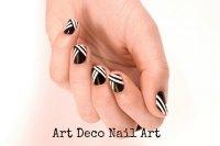 DIY Tutorial: Art Deco Nail Art - Boho Weddings For the ...