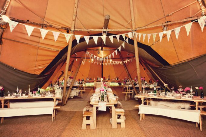 41 Northumberland Tipi wedding by Katy Lunsford