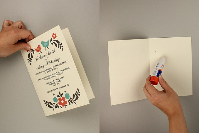 foldable invitation template word newsinvitation co