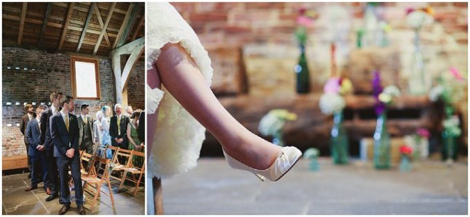 Vintage Wedding Dresses Reno: Quirky And Mismatched Barn Wedding In York By Jess Petrie