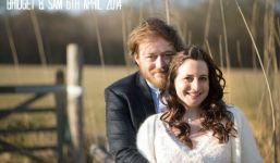 1 Bridget & Sam's Intimate Outdoor Farm Wedding. By Laura Ellen Photography