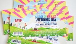 1 WEDFEST Festival Themed Wedding Stationey