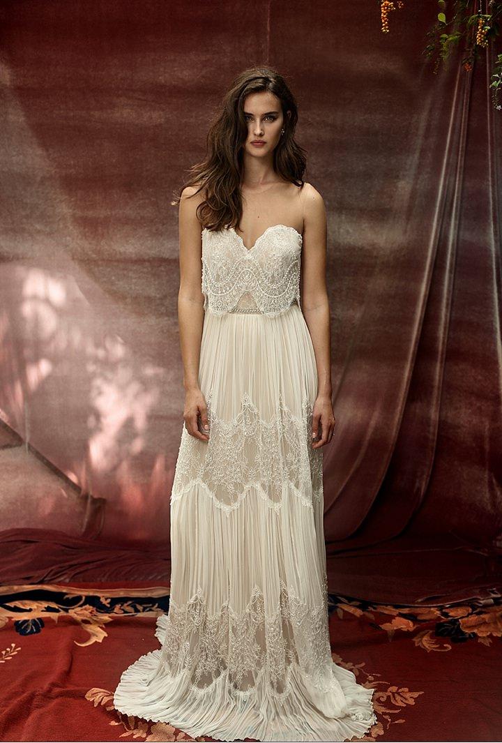 Bridal Style Lihi Hod  White Bohemian 2016 collection