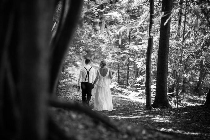1 Intimate Woodland Wedding by Tony Romero Photography