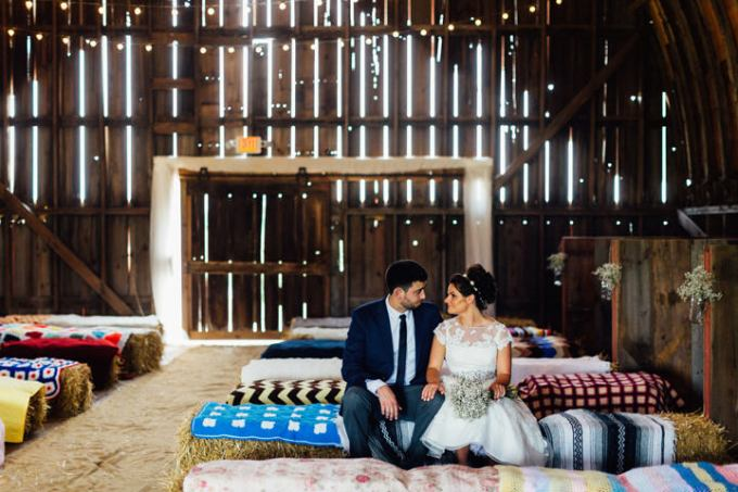 1 Barn Wedding in Illinois By Cling and Peck Photography