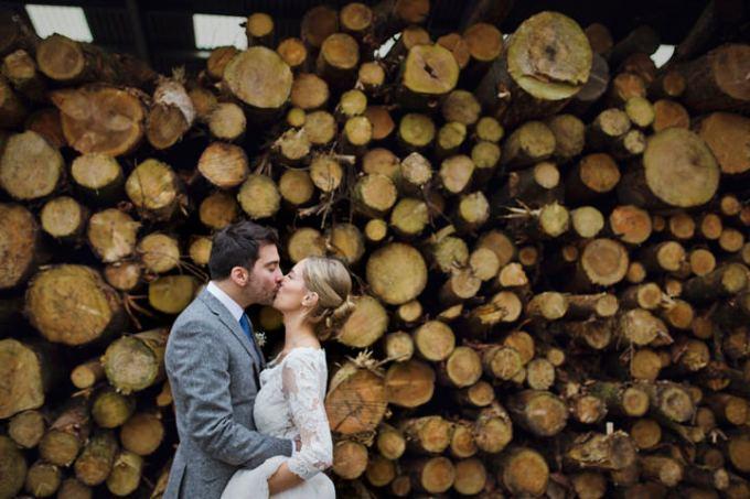 1  Rustic Winter Wedding By Mark Tattersall