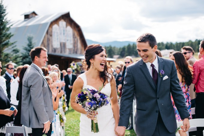 Courtney and Kirby's Purple and Green Colorado Barn Wedding By Searching For The Light