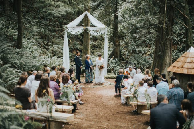 4 Outdoor Forest Wedding by Rivkah Photography
