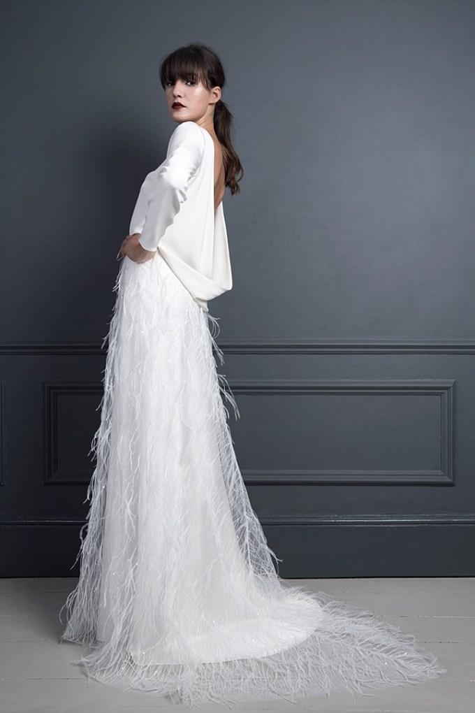 Bridal Style: Halfpenny London AW17 Collection - Standing on Stardust
