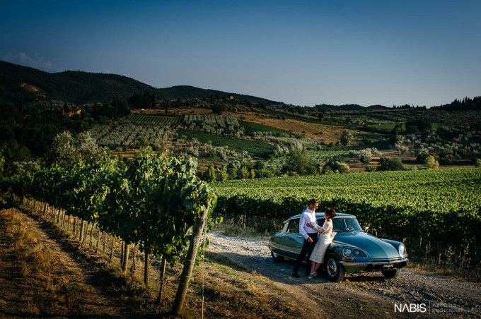 Melissa and Mark's Intimate Vintage Inspired Outdoor Italian Wedding by Nabis Photographers