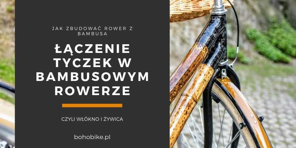 rama roweru z bambusa i tytuł artykułu