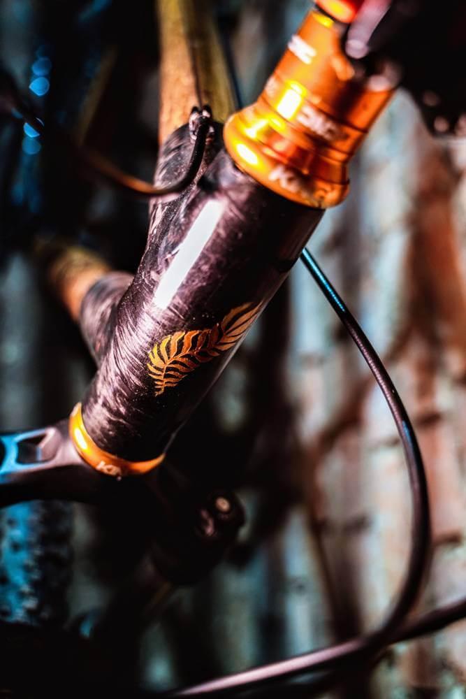 rowerowej z bambusa efekt końcowy rama z bambusa 02
