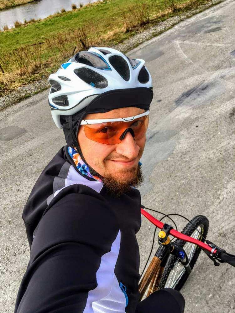100 km na rowerze w trasie