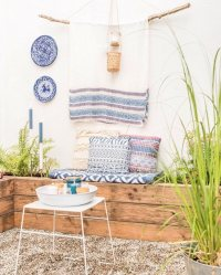 Bohemian Garden Designs And Backyard Ideas