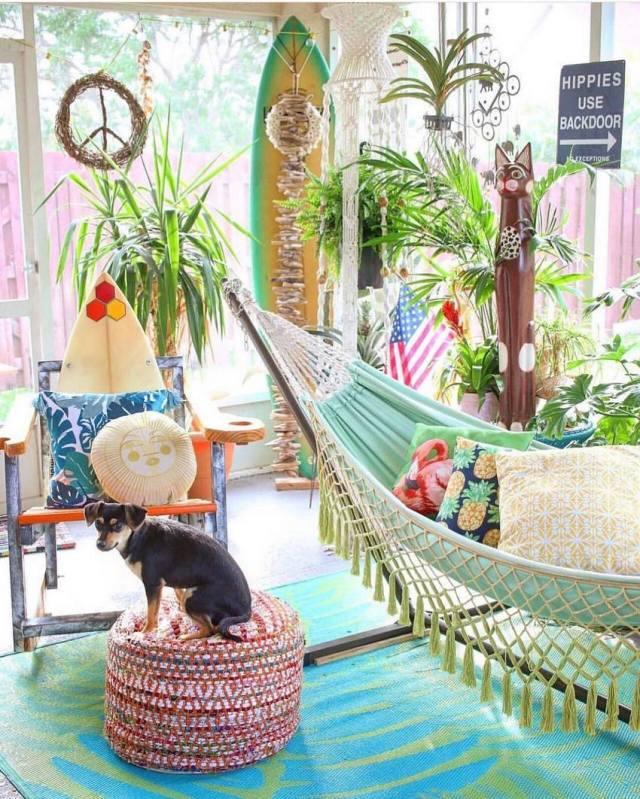 Bohemian Style Home Decor Ideas (21)