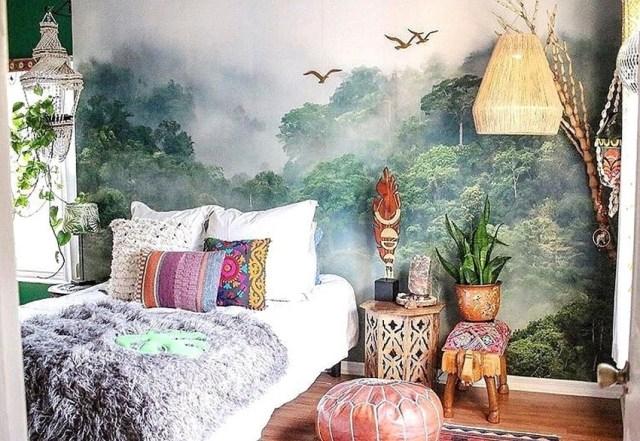 Bohemian Style Home Decor Ideas (52)