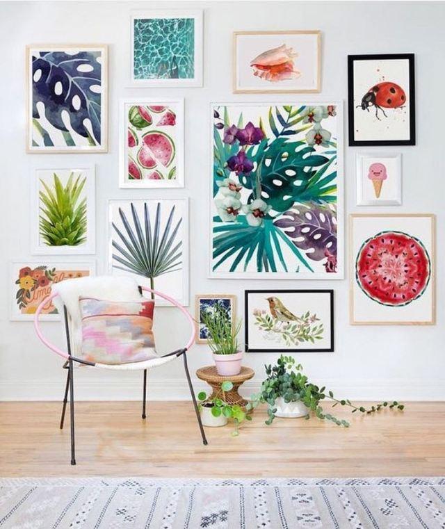 Bohemian Style Home Decor Ideas (53)