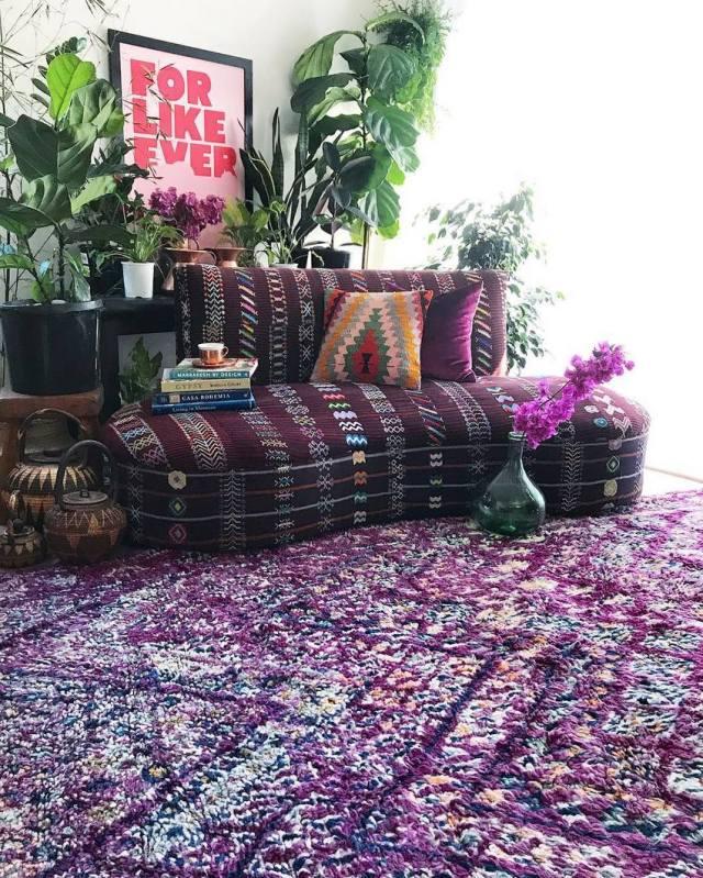 Bohemian Style Home Decor Ideas (57)