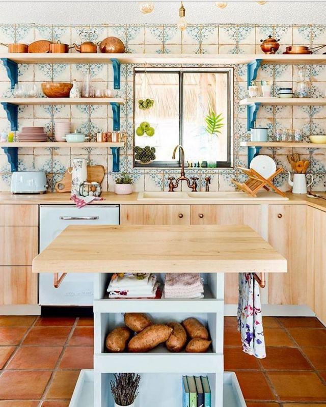Bohemian Style Home Decor Ideas (58)