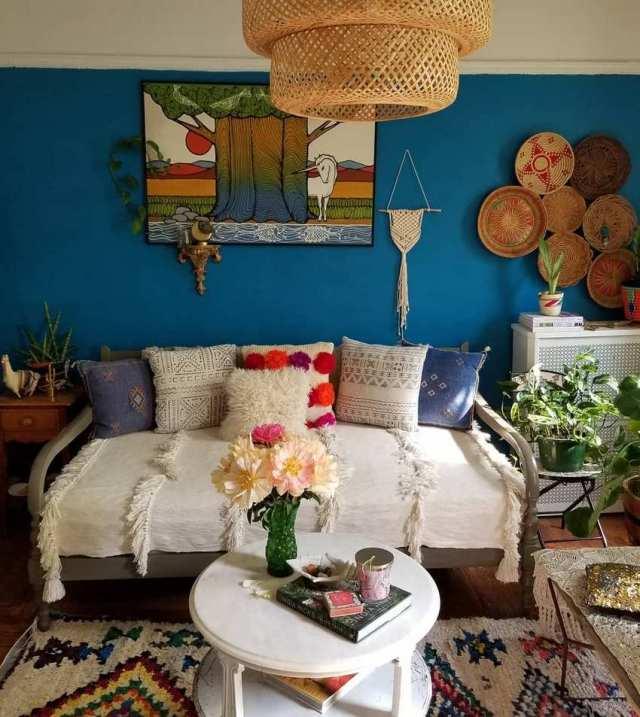 Bohemian Style Home Decor Ideas (59)