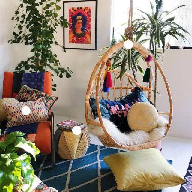 Bohemian Style Home Decor Ideas (8)
