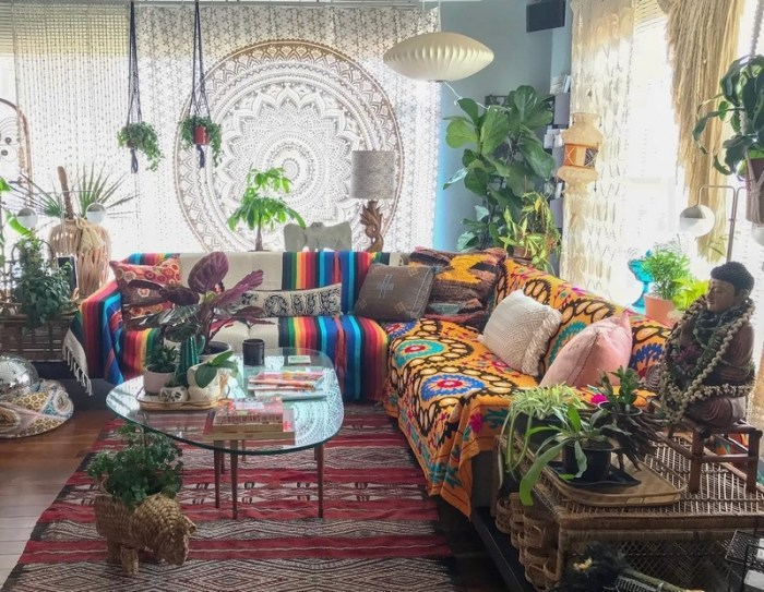 bohemian home decor ideas (2)