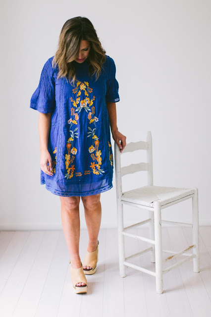 {EMBROIDERED DRESS}