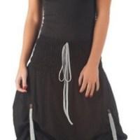 100% Cotton Skirt, Bohemian Hippie Gypsy 5 Color Lagenlook Dress IRZS007