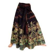 Siamrose Handmade Skirt Woman Skirt Jumpsuit Boho Hippie Chic Style One Size