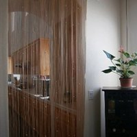 Lelinta 1m x 2m Decorative Door String Curtain Beads Wall Panel Fringe Window Room Divider Blind 11 Colors