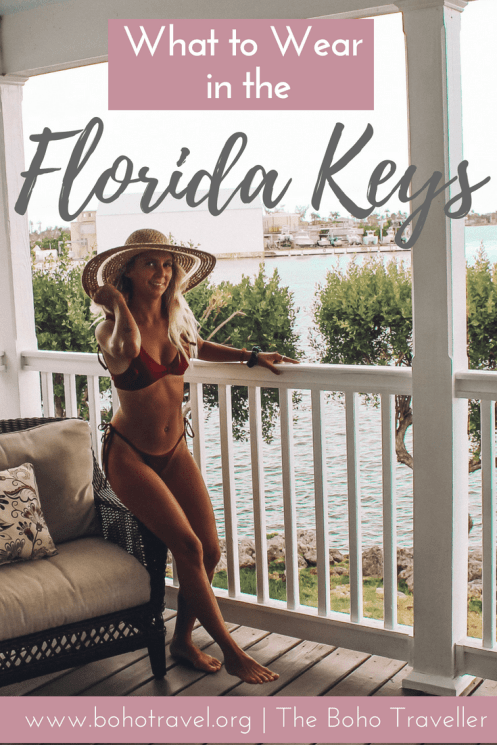 What to Wear in the Florida Keys! This is your ultimate packing guide for the Florida Keys to know what you need to bring to this beautiful little section of the sunshine state! The Florida Keys are full of beautiful blue water and is an amazing place to travel, but the heat can sometimes get you down.  Find out what to wear in Key West, and what to wear in Florida #florida #floridakeys #fashion #traveltips #keywest #florida things to do in key west | Packing list for key west | key west travel