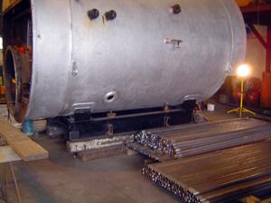 boiler for retube