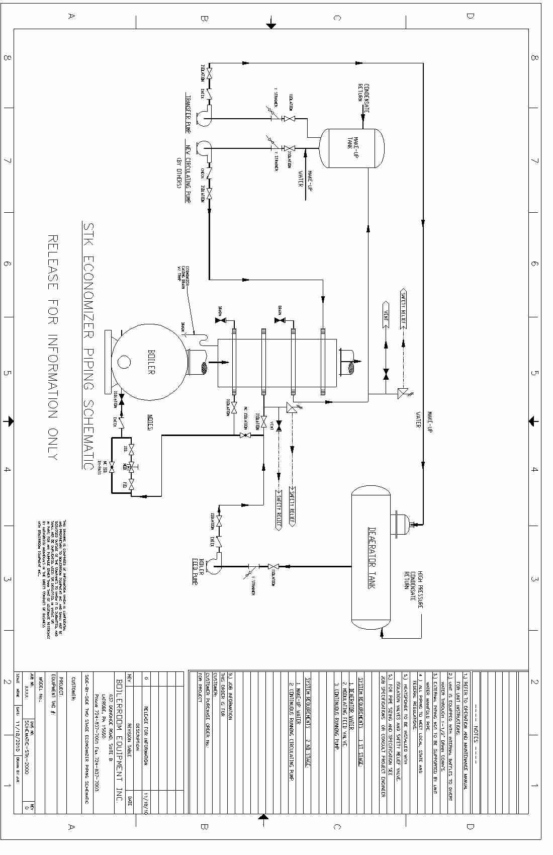 Condensing Boiler: Condensing Boiler Piping Schematic