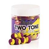 Dynamite BaitsPlum- Pineapple Fluro Two Tone Pop- Up Boilies 15mm - 1