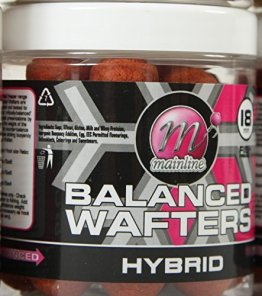 Mainline 444RED Baits neue Hybrid Wafters (12 mm) - 1
